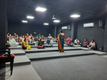 Session conducted by Shivani Ma'am and Mamta Ma'am on Seven Habbits