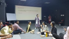 Session conducted by Heena Ma�am and Maitri Ma�am on Brain Teaser