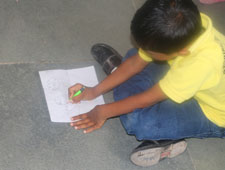Illustrating Water vocabulary(by Pre-primary)
